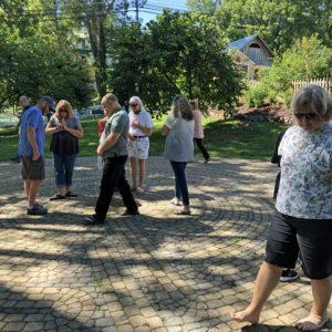 Healing Heart & Soul Retreat Walking The abyrinth